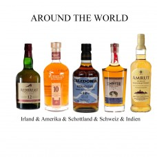 AROUND THE WORLD - Irland & Amerika & Schottland & Schweiz & Indien