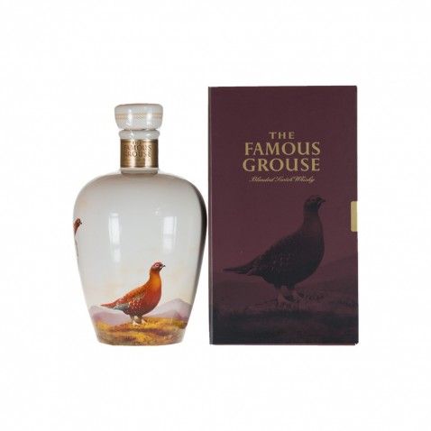 Famous Grouse Ceramic Wade Decanter   Global Whisky